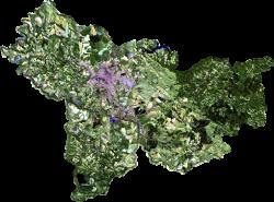 Mosaico de imagens Landsat - 2007