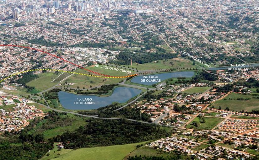 Prefeitura inicia obras do projeto do Lago de Olarias