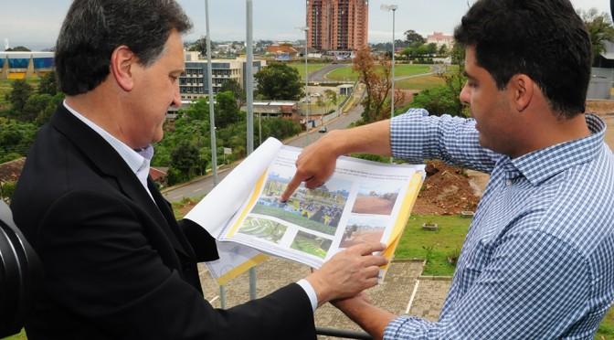 Prefeitura apresenta projeto do Parque Central