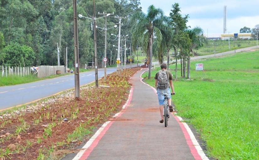 Prefeitura avança na implantação de ciclovias