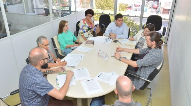 1ª Reunião técnica de assinatura de contrato de prestação de serviços da Revisão de Plano Diretor