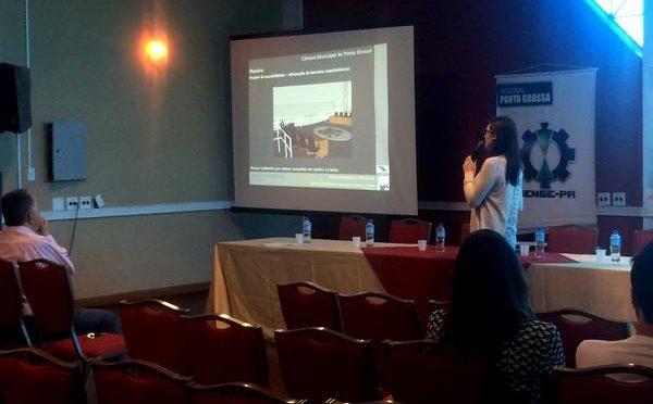 Projetos de acessibilidade do Iplan são destaque em Fórum do Crea-PR